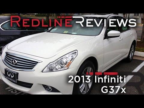 2013 Infiniti G37x Review, Walkaround, Exhaust, Test Drive