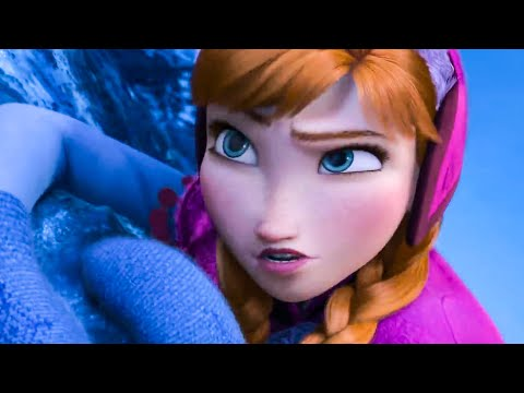 FROZEN - Anna at Elsa's Snow Palace Scene (2013) Movie Clip
