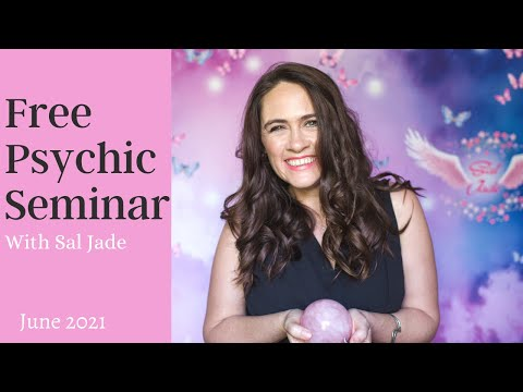 Free Psychic Classes with Sal Jade  Psychic Development Online