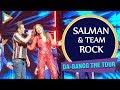 ENTERTAINMENT UNLIMITED: Salman Khan & Team ROCK the DA-BANGG Dubai Tour| Katrina | Jacqueline