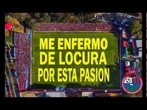 """Yo soy del Escarlata"" Barra: La Banda del Rojo • Club: Municipal"