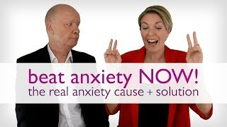 Beat Anxiety NOW! The Real Anxiety Cause + Solution | Wu Wei Wisdom