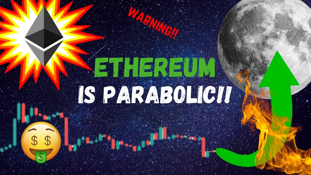 ETHEREUM IS GOING PARABOLIC!! (ETH) Will Bitcoin follow? #Ethereum #ETH