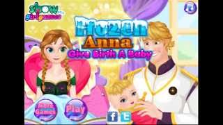 (IDOGFYC) Let's Play Blind - Frozen Anna Give Birth A Baby