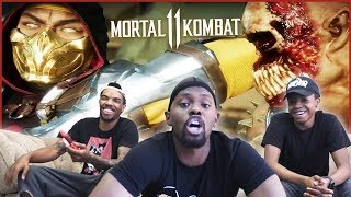 Mortal Kombat 11 REMATCH! Trent Tried To CUSS DION OUT!