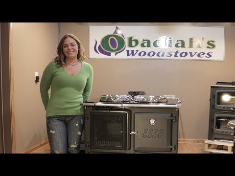 Esse Ironheart Wood Cookstove - Overview