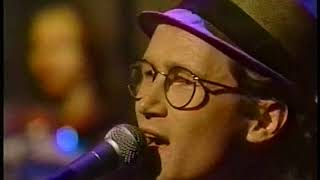 Marshall Crenshaw - Better Back Off live - Late Night 1991 (great sound/video)