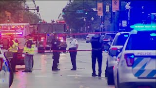 video: Shootout outside Chicago funeral leaves 14 wounded