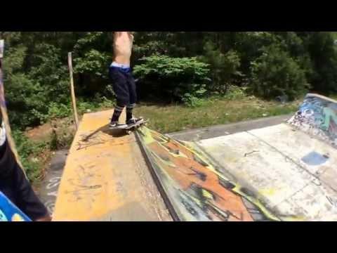 Day at Falmouth skatepark