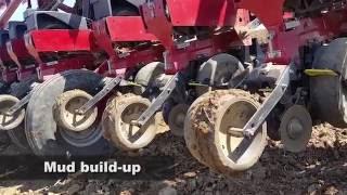 Scrapers Keep Case IH Wheels Clean