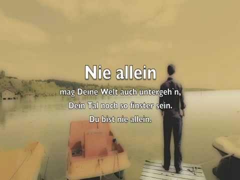 """Videoclip LIED 4 """"Nie allein"""""""