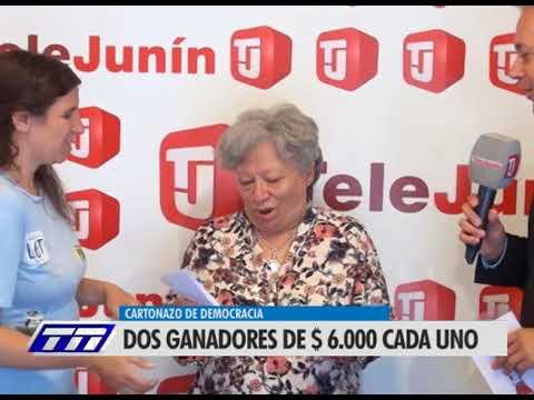 Cartonazo: dos juninenses fueron los ganadores del pozo semanal