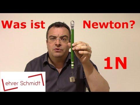 1N - Was ist ein Newton? | Mechanik | Physik | Lehrerschmidt