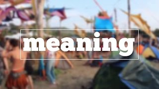 Learn how to spell meaning