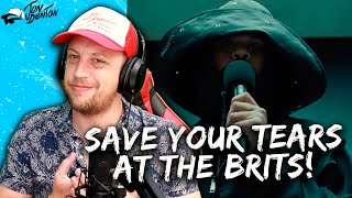 The Weeknd - Save Your Tears BRITS PERFORMANCE - REACTION! | THE AFTER HOURS ERA LIVES FOREVER!