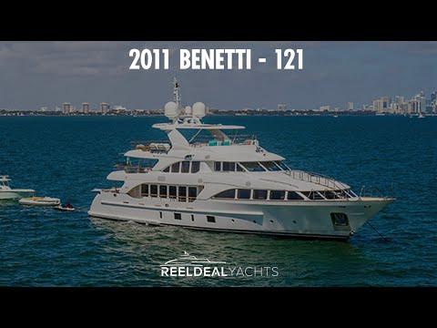 Benetti 121 video