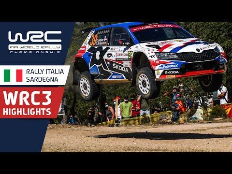 WRC3 2021 第5戦ラリー・イタリア ハイライト動画