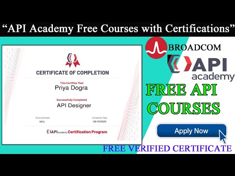 API Designer Certificate  API Academy Certification Program ...