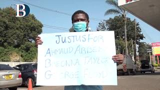 Kenyans held a peaceful demonstration against police brutality in