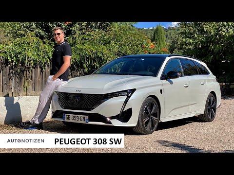 Peugeot 308 SW Hybrid 180 GT: Der Kompakt-Kombi im ersten Test | Review | 2021 / 2022