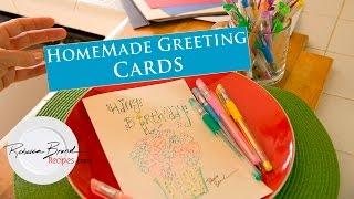 How To Make Homemade Greeting Cards - DIY