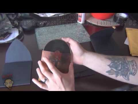 TOOL's  Opiate 21st Anniversary Edition version #5 Unboxing and display.