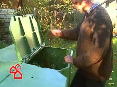 BAUHAUS TV - Komposter im Garten
