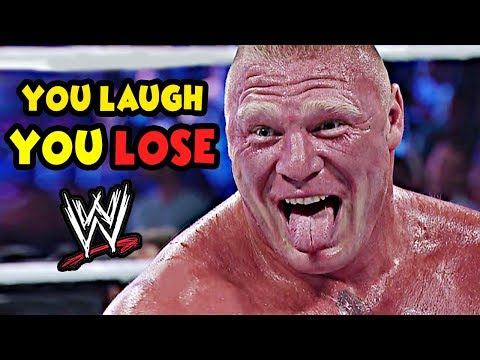 YOU LAUGH YOU LOSE! WWE FUNNIEST MOMENTS (2018)