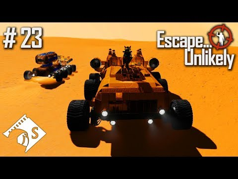 Escape... Unlikely #23 Complex Cranes with Capac (A Space Engineers Co Op Series)