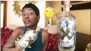 LIQUOR BOTTLE HELPED ME SAVE OVER 2K IN A FEW MONTHS  🤭 |  MONEY SAVING CHALLENGE