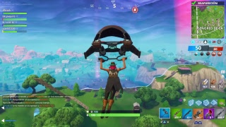 "Fortnite dominación disco ""EN DIRECTO"" el luis PS4"