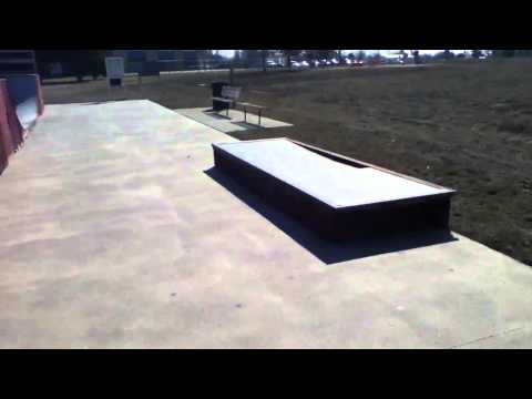 Knoxville skatepark in Iowa