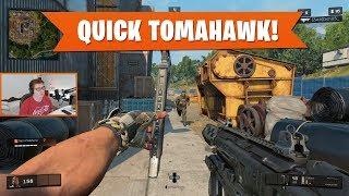 QUICK TOMAHAWK KILLS TO START!   Black Ops 4 Blackout   PS4 Pro