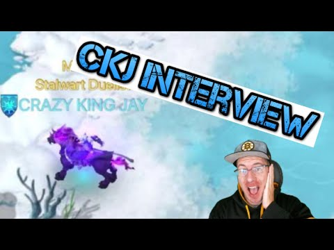 Crazy King Jay Interview - Great Advise and Fun Time - Art of Conquest