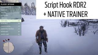 Script Hook RDR2  Native Trainer  Red Dead Redemption 2 Mods  Alexander Blade