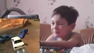 Школьник играет в Gta san andreas