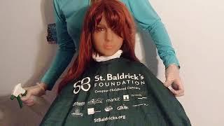 Nurse Cuts Hairdresser Long Red Hair