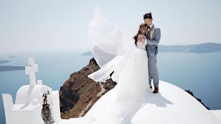 Daryl & Lok | Our Small And Intimate Wedding In Santorini | Dana Villas