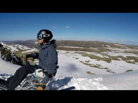 Michael Foti - Charlotte Pass to Etheridge. Backcountry sit skiing.