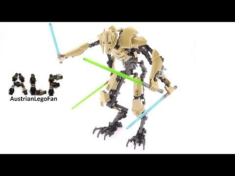 Vidéo LEGO Star Wars 75112 : Général Grievous
