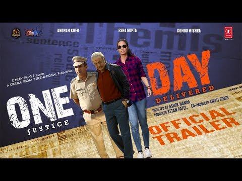 Official Trailer : One Day | Anupam Kher |  Esha Gupta | Kumud Mishra | 14th June 2019