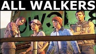 The Walking Dead Episode 5 - All Muertos, Zombies & Walkers - Season 3 A New Frontier