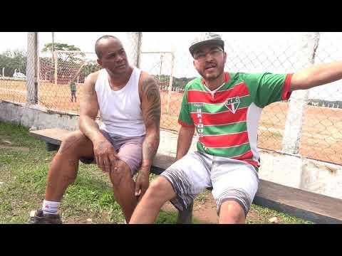 Gustavo Cebolinha do Unidos da Favela do Justinos pede o fim do Campeonato realizado pela Prefeitura de Juquitiba para Marmajos