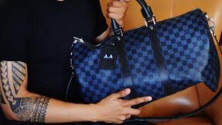 bf6d6b3401de Louis Vuitton Keepall 45 Damier Cobalt Review (What s In My ...