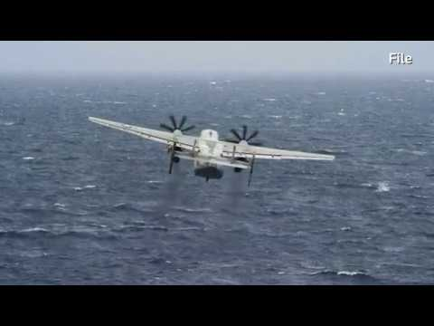 US Navy plane crashes in Philippine Sea; three missing