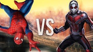ЧЕЛОВЕК ПАУК vs ЧЕЛОВЕК МУРАВЕЙ/SPIDER MAN vs ANT MAN.ЭПИЧНАЯ РЭП БИТВА