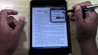 The Kindle App on the iPad Mini   H2TechVideos