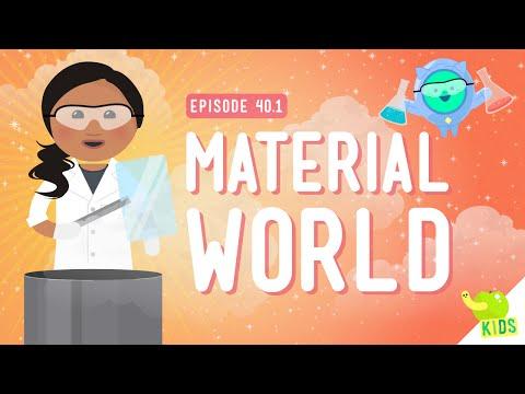 , title : 'Material World: Crash Course Kids #40.1