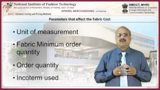 Garment Costing And Pricing Methods