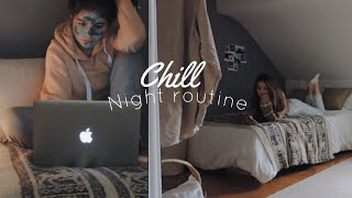 Chill Night Routine | Fall Edition